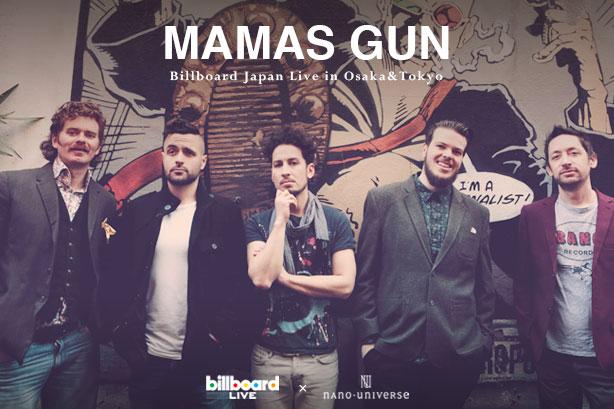 第14回アーティスト「Mamas Gun」