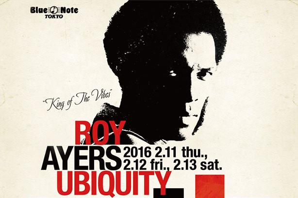 第2回アーティスト「ROY AYERS UBIQUITY」